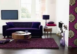 Living Room With Purple Sofa Living Room Purple Blue Living Room Decor Idea Purple