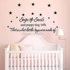 Letter Wall Decals For Nursery Wall Quote Decals Vinyl Wall Stickers Room Wall Decor