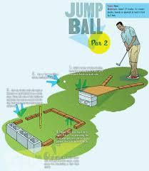 Backyard Golf Course by Build A Miniature Golf Course In Your Backyard U2013 Boys U0027 Life Magazine