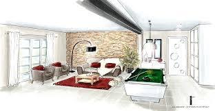comment dessiner une chambre en perspective dessin chambre en perspective perspective du salon comment dessiner