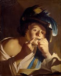 Harp Meme - file dirck van baburen young man with jew s harp google art