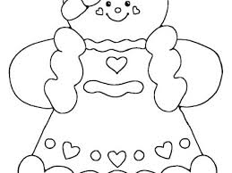 Ginger Bread Man Coloring Pages Gingerbread Ideas Free Color On Bread Coloring Page