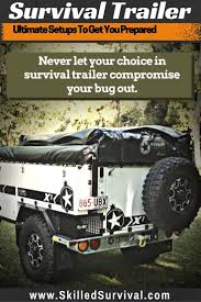jeep kayak trailer best 25 bug out trailer ideas on pinterest utility truck beds