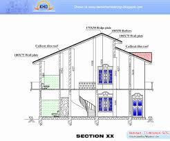 house plan gallery scintillating house plan elevation section gallery best
