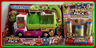 trash pack sewer truck u0026 trash pack series 7 junk germs