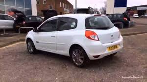 renault clio 2012 renault clio dynamique tomtom tce white 2012 youtube