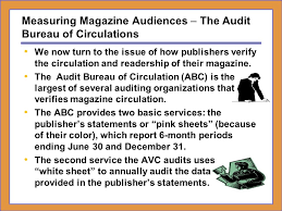 audit bureau of circulation dr h ronald moser cumberland ppt