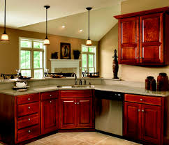 Jamestown Designer Kitchens by Haas Cabinet Co Federal Square Door Style Partial Overlay Wood