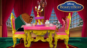 disney princess belle u0027s be our guest dining set from hasbro youtube