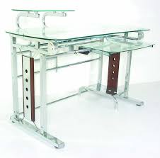 20 ways to contemporary glass computer desk