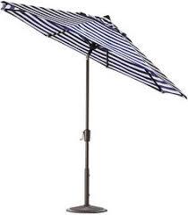 Blue And White Striped Patio Umbrella Shadow Black And White Stripe Umbrella Shade