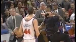 Hit The Floor Rick Fox - 12 best nba fights of all time that will still shock you