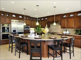 free standing kitchen islands with seating kitchen islands with seating for 4 in oak triangular kitchen