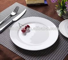 wedding dinner plates wholesale hotel restaurant ceramic white wedding plates and