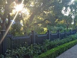dark grey fencing is it gates fences