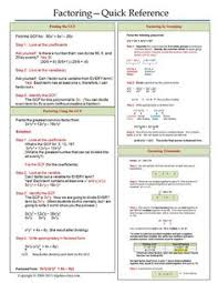 one page notes worksheet for polynomials unit abc u0027s u0026 123 u0027s