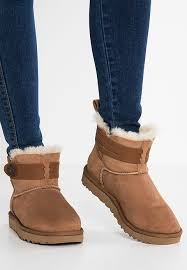 womens ugg boots bow ugg boots with bows journeys ugg elva boots chestnut