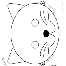 aztec masks template aztec mask coloring page free printable scuba