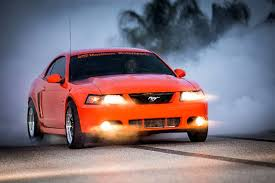 2004 mustang svt jeff smith seeks the 9s with his competition orange 2004 svt cobra
