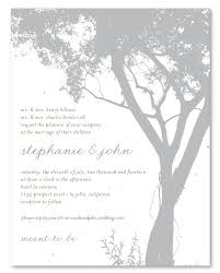tree wedding invitations tree wedding invitations on plantable paper pebble by