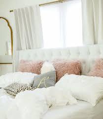 white light grey mauve gold and animal print bedroom decor