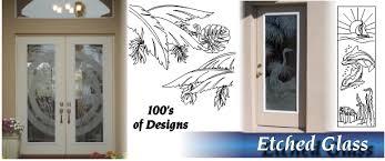 Glass Door Etching Designs by Fiberglass Doors Glass Doors Interior Doors The Glass Door Store Tampa