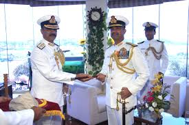 Flag Rank India Strategic Navy Rear Admiral Bahl Takes Charge As Flag