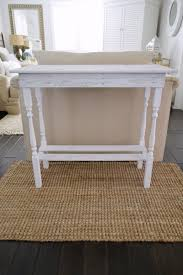 Diy Console Table Diy White Washed Wood Table Fox Hollow Cottage