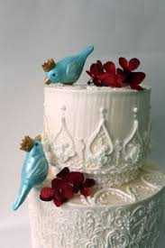 bird cake topper swallowtail bird cake topper white and robin egg by lavagifts