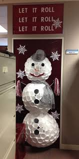 Office Christmas Door Decorating Contest Ideas Pinterest