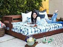 build a lounge worthy outdoor daybed hgtv