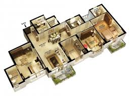 4 bedroom floor plans amazing 3d 3 bedroom house plans 4 bedroom house floor plans 3d