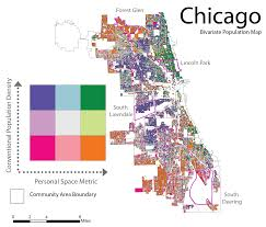 Bike Map Chicago by Perdue