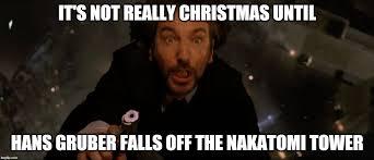 Die Hard Meme - merry christmas imgur