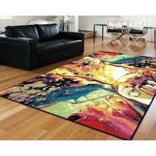 multi colored area rug safavieh nantucket multicolored chevron