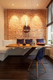 narrow dining room table casual dining room design with prairie 6