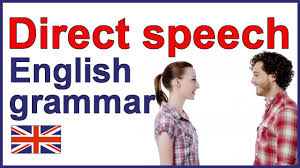 direct speech english writing lesson and exercises youtube
