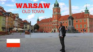 visiting warsaw poland old town stare miasto youtube