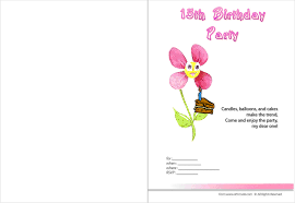 printable birthday invitations templates make your own uniqque