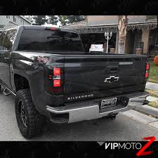 2008 chevy silverado led tail lights sinister black smoke led neon tube tail lights 2016 2018 chevy