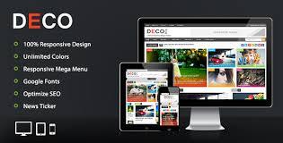 templates v1 blogger deco mag responsive magazine blogger template by pbthemez
