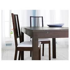 ikea dining room sets bjursta extendable table brown ikea