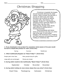 collections of christmas story worksheets printables easy
