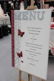 idee menu mariage menu chevalet mariage menu place personne fait amour