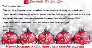 merry christmas happy riana health u0026 skincare