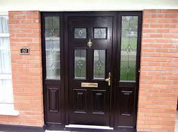 Painting Exterior Doors Ideas Alluring Painted Residential Front Doors With Painting Front Door