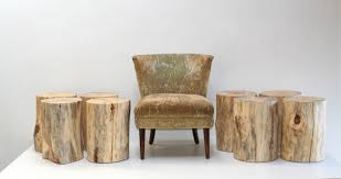 tree stump end tables home design