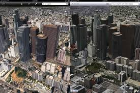 Chicago Google Maps by Apple U0027s 3d Maps Look Much Better Than Google U0027s