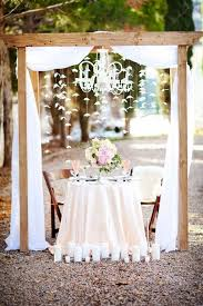 sweetheart table decor rustic country wedding sweetheart table decoration hacks