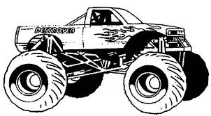 monster truck ready for monster jam show coloring pages color luna